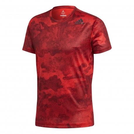 camisetas hombre adidas rojo