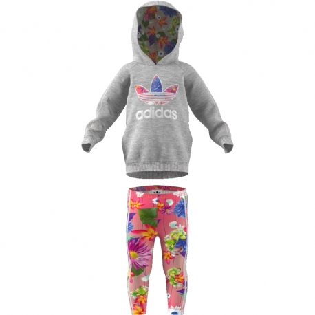 CHANDAL ADIDAS ORIGINALS GRAPHIC HOODIE BEBÉ CY2289