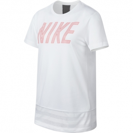 CAMISETA NIKE NIÑA DRY TRAINING 890292-100