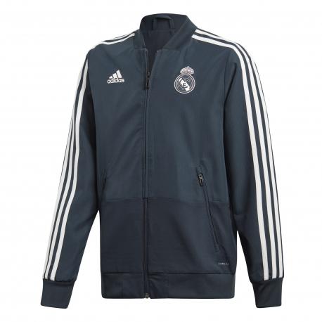 8827980b6ddb2 CHAQUETA ADIDAS REAL MADRID JUNIOR T18 19 CW8637 - Deportes Liverpool