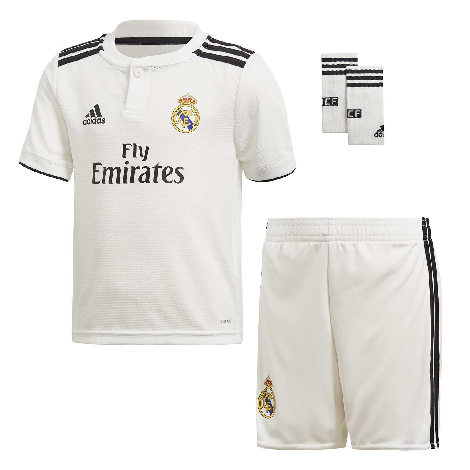 4912212a50166 CONJUNTO ADIDAS REAL MADRID JUNIOR T18 19 CG0553 - Deportes Liverpool