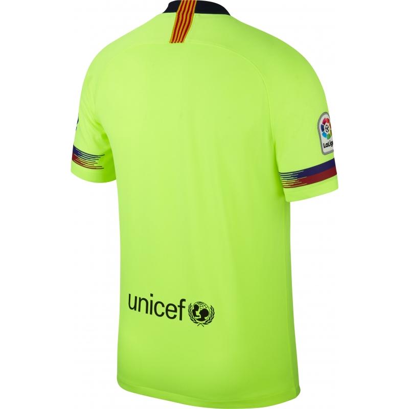 ... CAMISETA NIKE FC BARCELONA 2ª EQUIPACION HOMBRE T18 19 918990-703 ... 219464930849b