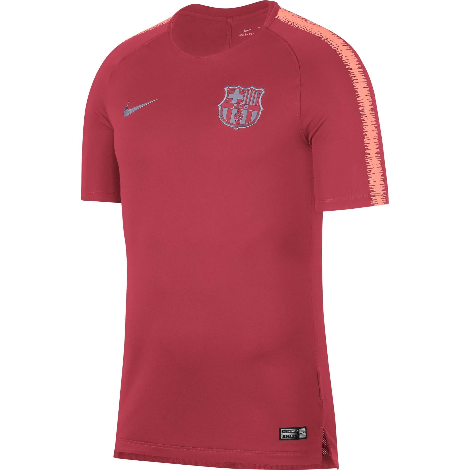 6901c3a40d9f2 CAMISETA NIKE FC BARCELONA ENTRENO HOMBRE 2018 2019 894294-691 - Deportes  Liverpool