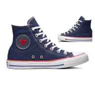 ZAPATILLAS CONVERSE ALL STAR SUCKER LOVE DENIM MUJER 163303C