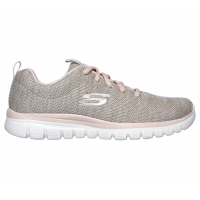 ZAPATILLAS SKECHERS GRACEFUL TWISTED FORTUNE MUJER 12614-NTCL