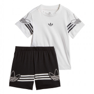 CONJUNTO ADIDAS ORIGINALS OUTLINE BEBÉ DV2833