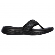 CHANCLAS SKECHERS ON THE GO MUJER 16150-BKGY