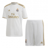 CONJUNTO ADIDAS REAL MADRID 1ª EQUIPACIÓN 19/20 JUNIOR DX8841