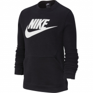 SUDADERA NIKE CLUB FLEECE JUNIOR BV0785-010