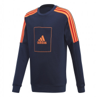 SUDADERA ADIDAS 3-STRIPES CREW JUNIOR FL2817 JB-AAC